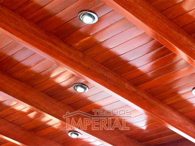 techos de madera para terrazas