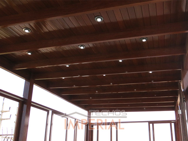 Pin techos para terrazas madera techo ajilbabcom portal pictures on pinterest - Techos de maderas ...